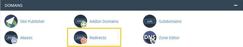 Redirects Domain